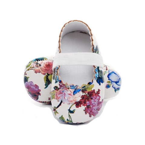 Summer Floral Mary Janes