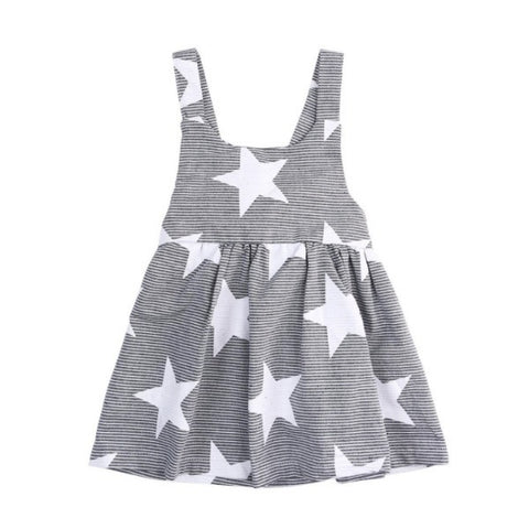 Striped Star Dress