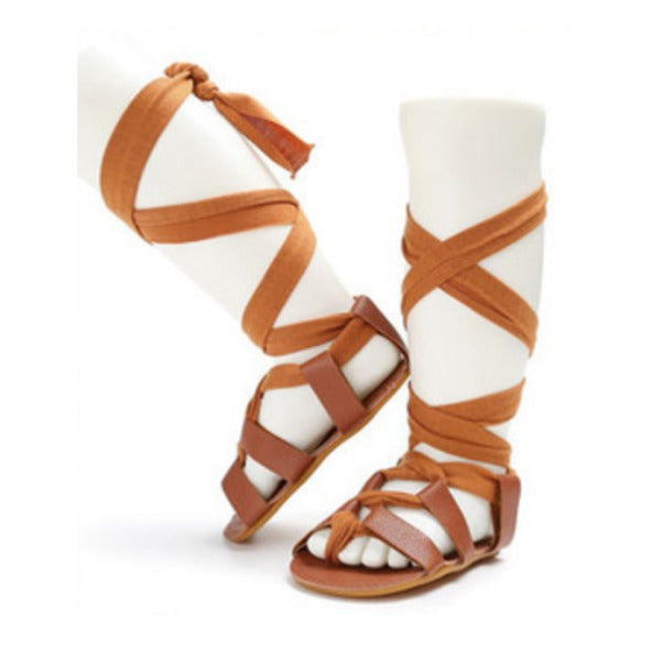 b4308232743d Sale Baby Gladiator Shoes. Baby Gladiator Shoes. Cutie Pies Boutique.  Regular price  36.90 Sale price  16.95