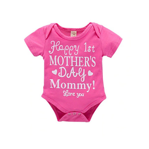 Happy 1st Mother's Day Romper