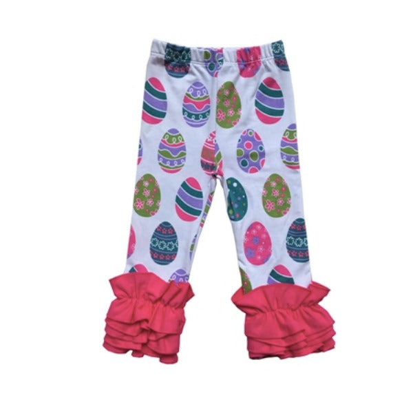 Easter Egg Ruffle Leggings