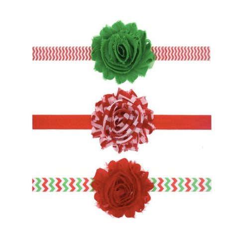 Christmas Chiffon Headbands