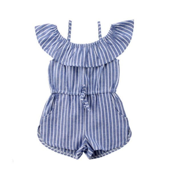 Gianna Stripes Romper