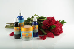 Organic rose skin care products - Val Coyote's Radiant Skin Organics