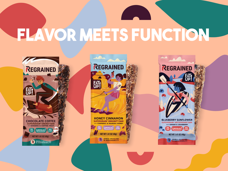 ReGrained Nutrition Bars: The Dynamic Duo of Flavor and Function Wrapped in One