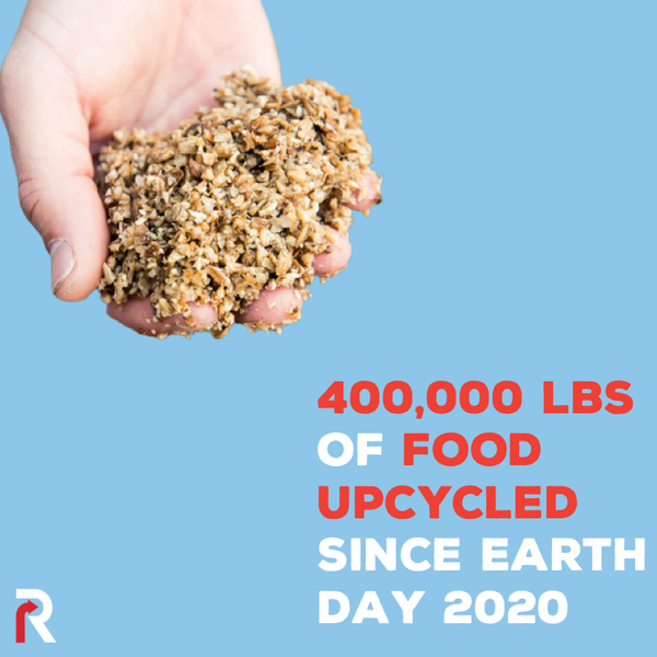 More Than 400,000 lbs of Upcycled Food Since 2020