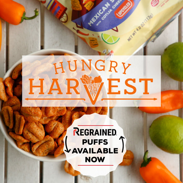 Launch Alert: ReGrained Puffs Launch on Hungry Harvest!