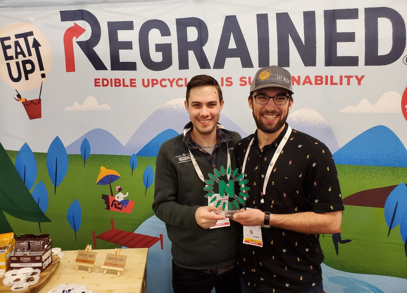 ReGrained Wins 2019 Editor's Choice NEXTY Award at Expo West for Innovation, Upcycling and Sustainable Packaging