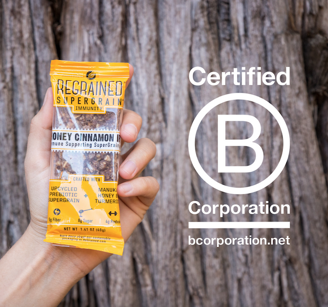 ReGrained is a Certified B Corporation®!