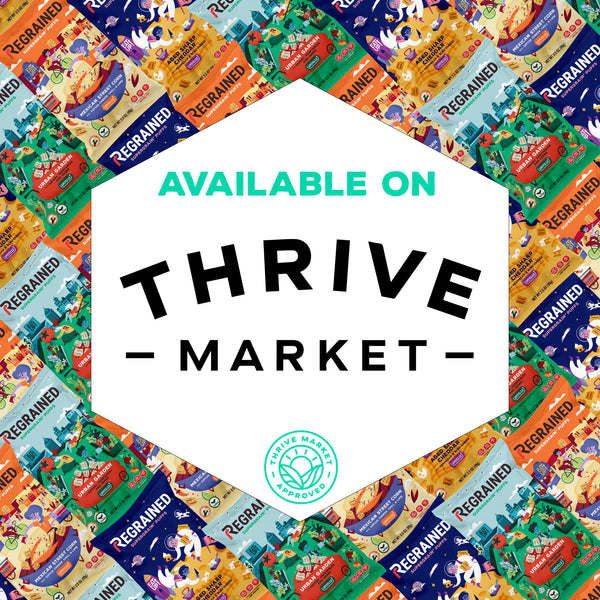 ReGrained launches Upcycled SuperGrain+® Puff Innovation in Thrive Market