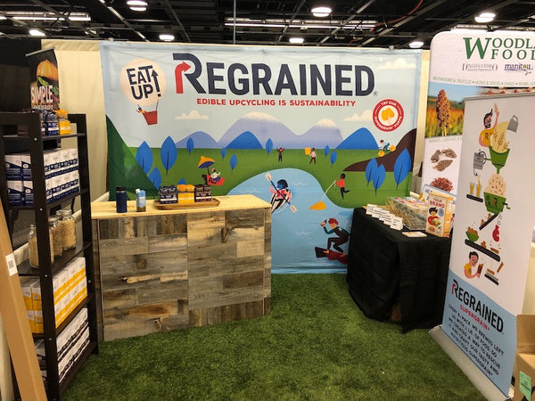 ReGrained Expo West Booth