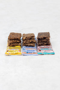 6-Pack Bar Sampler (2 Bars of Each Flavor)