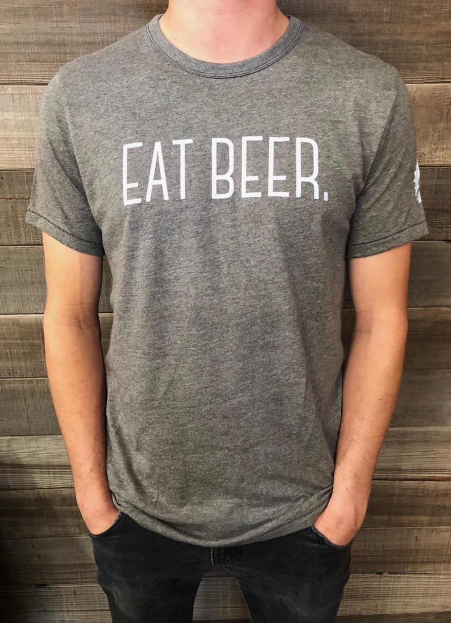"""Eat Beer"" Unisex T-Shirt (Color Options)"