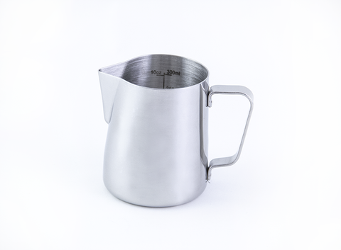 Graded Milk Pitcher for latte art - 12 oz