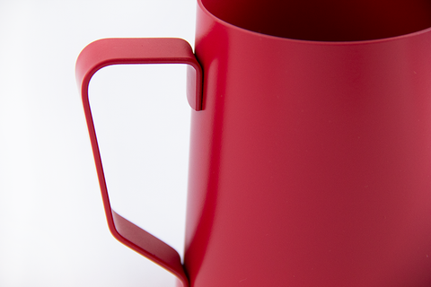 Milk pitcher for latte art - 20 oz Red