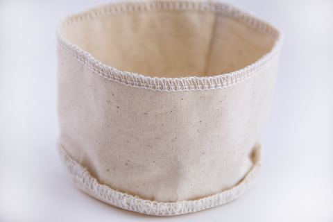 Reusable coffee filter - Basket  - Organic Cotton