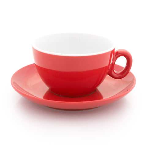 red latte cup 10 oz demitasse