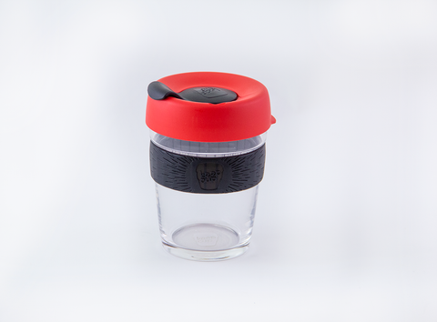 KeepCup Brew - Red & Black 12 oz