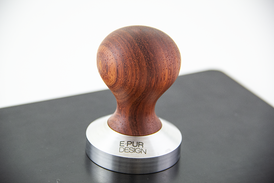 Padouk wooden coffee tamper