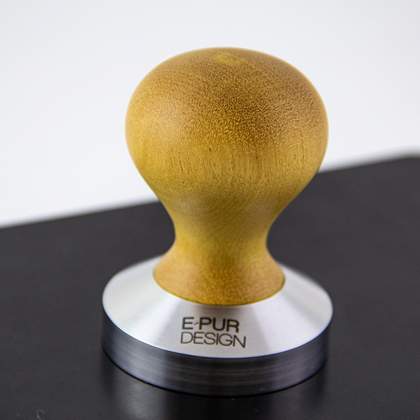 Pau Amarello wooden coffee tamper