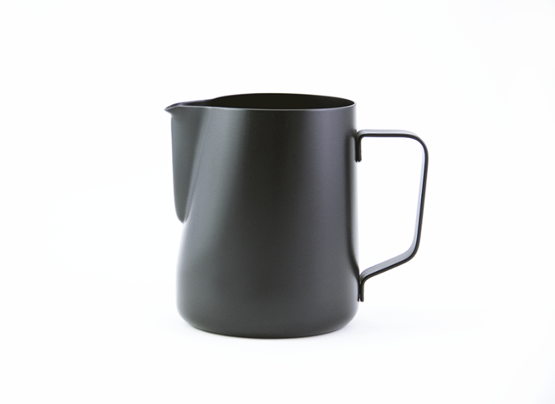 Milk pitcher for latte art - 20 oz Black