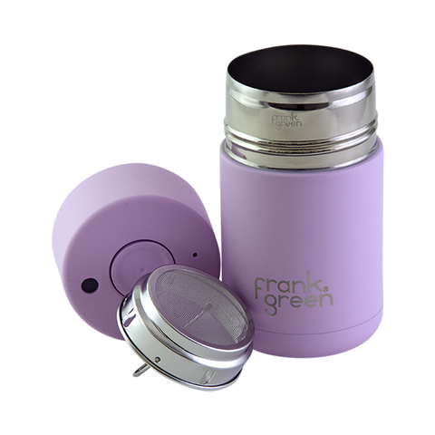 Stainless Steel Reusable Cup - Pink Lavender (Imperfection)