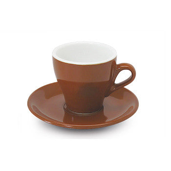 Espresso tulip shape ACF cup 2.25 oz brown