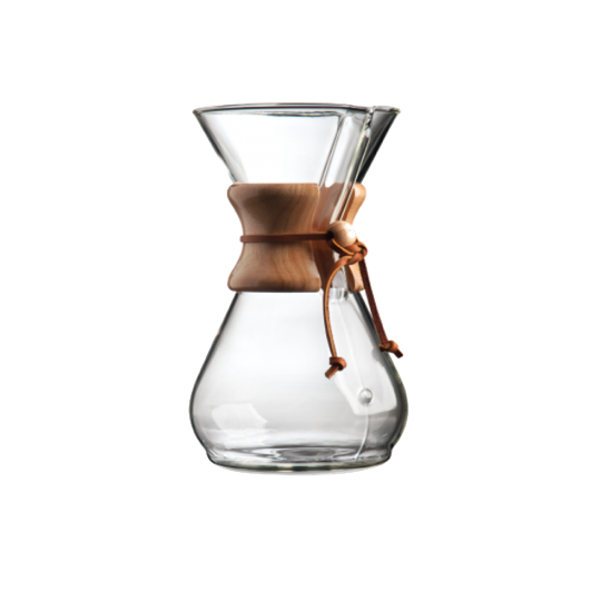 Chemex Classic Series with wood collar