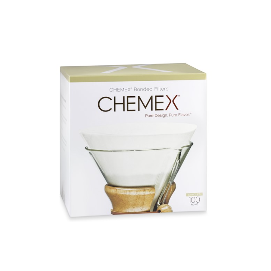 Chemex Bonded Filters Pre-Folded Circles (Pack of 100)