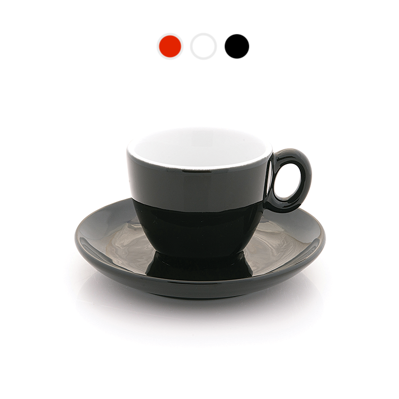 Demitasse espresso, 2.5 oz in 3 colors