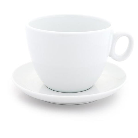 White Latte bowl 17 oz - Bol à latté blanc