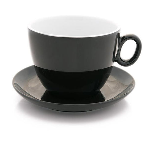 Black Latte bowl 17 oz - Bol à latté noir