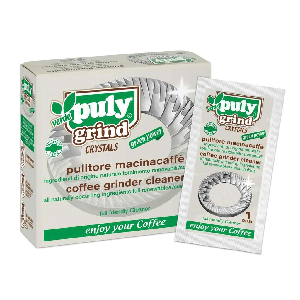 Puly Grind Crystal (Verde) Coffee Grinder Cleaner (10x15g)