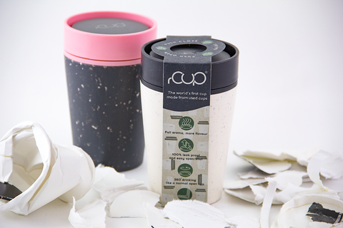 rCUP- Reusable coffee cup - Travel Mug -BeCoffee