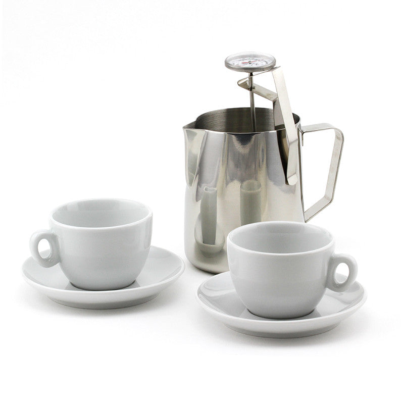 Cappuccino Starter Kit with 6 oz cups (2)