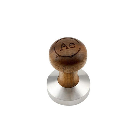 Dark Walnut wooden tamper by L'Atelier Espresso
