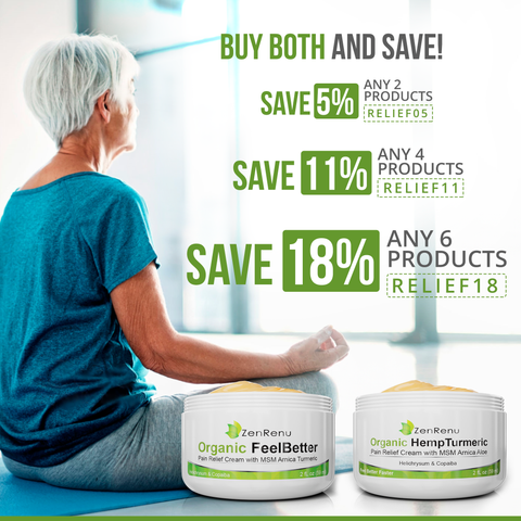 Organic Hemp Pain Relief Cream