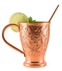 Image of Moscow Mule Copper Mugs Embossed Party Pack of 12