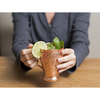Image of Embossed Exclusive Moscow Mule Copper Mugs Gift Set of 2