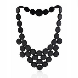 OLIVIA NECKLACE - BLACK