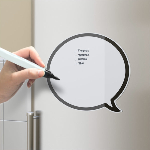 MAGNETIC FRIDGE BOARD TALKING BUBBLE