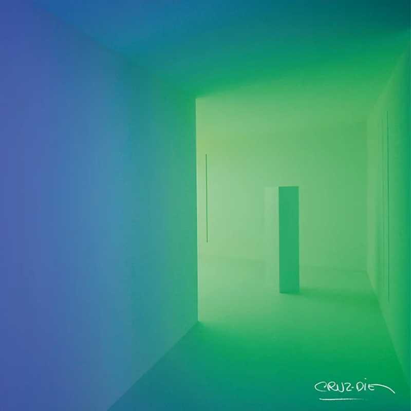 Chromosaturation poster (green)