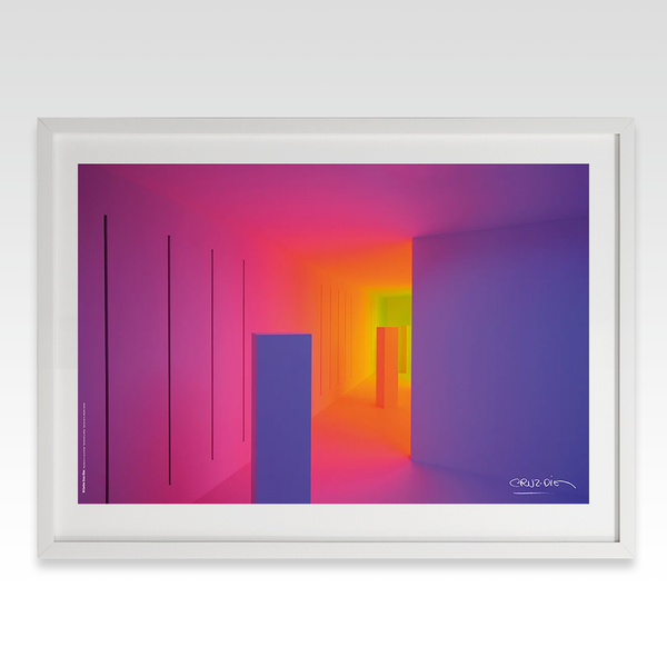 Chromosaturation poster (magenta)
