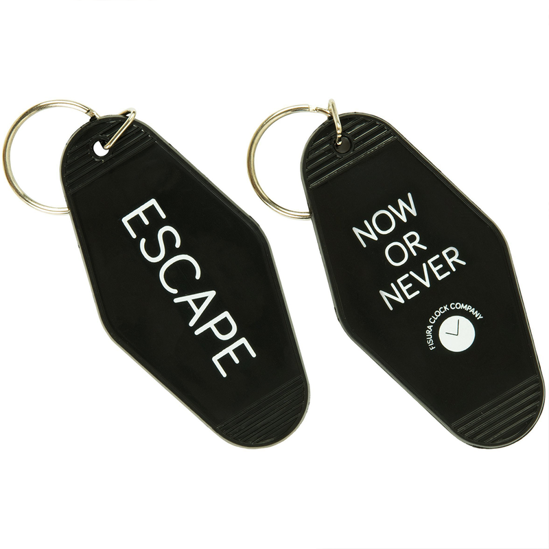 Now or Never keyring