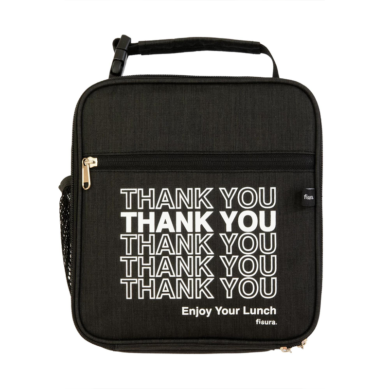 "Tupper bag - ""Thank you"" pattern"