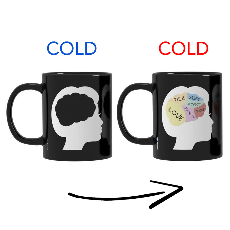 Woman Vs Man  magic mug