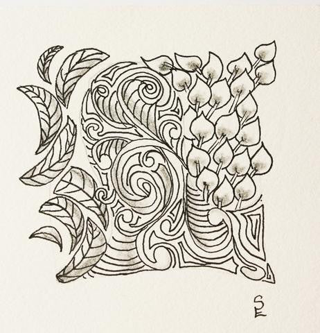 [INSERT WORKSHOP DATE] ZENTANGLE®  BEGINNING WORKSHOP