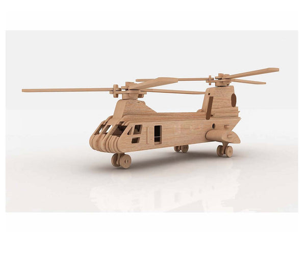 Chinook Helicopter 3D Model/Puzzle