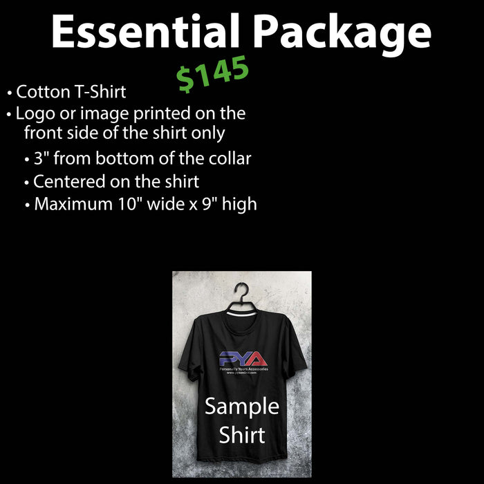 25 Custom T-Shirts for $145, Custom T-Shirts, Personally Yours Accessories