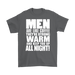 Men Are Like Coffee They're Strong Warm And Keep You Up All Night, T-shirt, Personally Yours Accessories